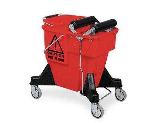 Ведро пластиковое на колесах с отжимом (20л + 10л) VDM Alex Combi