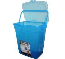 Ведро для стирального порошка с крышкой пластик (10л), TEA 5060