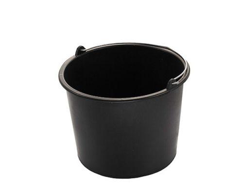 Ведро хозяйственное круглое с метал.ручкой, пластик (12л), MTM 3851