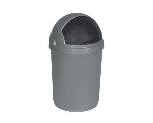 Ведро мусорное с крышкой BULLET BIN пластик (45л), CUR 3930