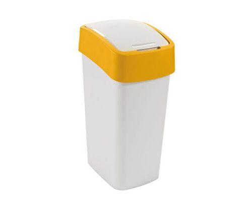 Ведро мусорное с крышкой FLIP BIN пластик (50л), CUR 02172