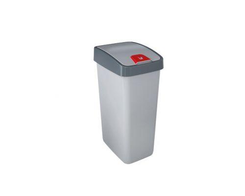 Ведро мусорное с крышкой FLIP LID пластик (10л), KEE 2244