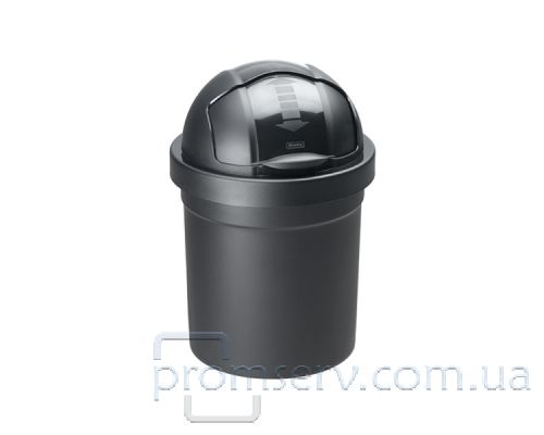 Ведро мусорное с крышкой ROLL BOB пластик (10л), RTH 17212
