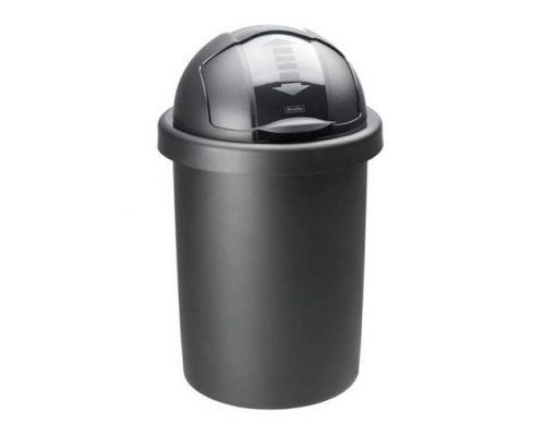 Ведро мусорное с крышкой ROLL BOB пластик (30л), RTH 17213