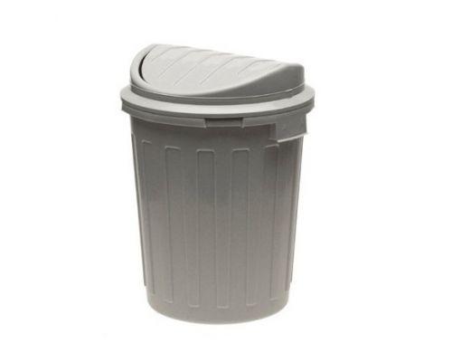 Ведро мусорное с крышкой SuperSWING пластик 23л KEE 0217