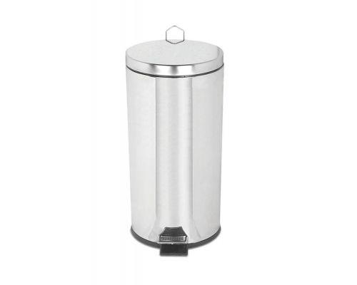 Ведро мусорное с педалью нерж, хром (30л), PALEX 330