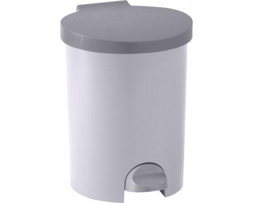 Ведро мусорное с педалью пластик (15л), CUR 4011