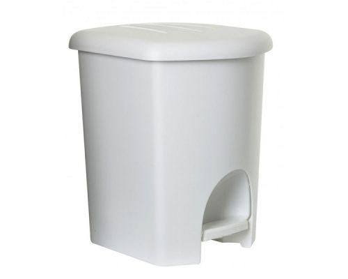 Ведро мусорное с педалью пластик (16л), TEA 1356