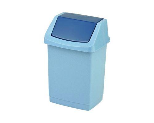 Ведро мусорное с плавающей крышкой CLICK-IT пластик 9л CUR 4042