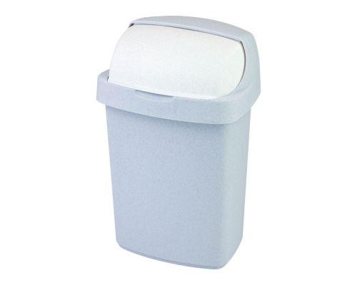 Ведро мусорное с плавающ.крышкой ROLL TOP пластик (25л), CUR 03976