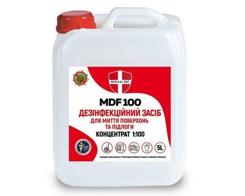 Дезинфицирующее средство для пола MDF 100 концентрат, канистра (5л), Medical Def