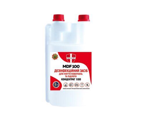 Дезинфицирующее средство для пола MDF 100 концентрат, крышка-дозатор (950мл), Medical Def