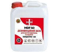 Дезинфицирующее средство для пола MDF 50 концентрат, канистра (5л), Medical Def