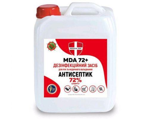 Дезинфицирующее средство MDA 72+ канистра (5л), Medical Def