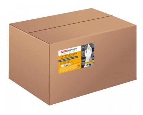 Перчатки хозяйственные латексные прочные балком, 30пар/уп (L), PROservice