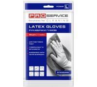 Перчатки хозяйственные латексные прочные (L), PROservice