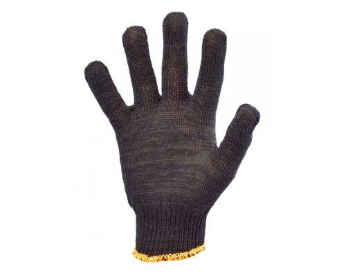 Перчатки трикотажные SLIM, черные (кл.10)