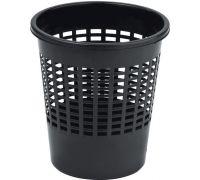 Корзина для бумаг BASICS пластик, черная (11л), CUR 4022