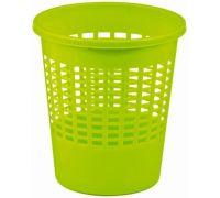 Корзина для бумаг BASICS пластик, микс (11л), CUR 0220