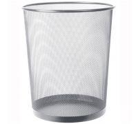 Корзина для бумаг оцинк.сетка, серебро (15л), Украина